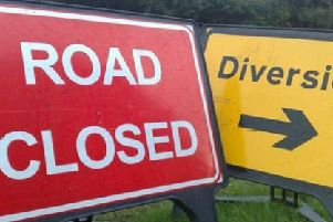 There will be a diversion in place on the A14 on Sunday evening