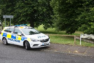 Police pursued a vehicle onto Broadwater Green, Worthing