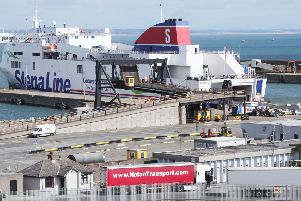 File photo dated 19/08/19 of a general view of Rosslare Europort in Co Wexford, Ireland. Sixteen people have been discovered in a sealed trailer on a ferry sailing from Cherbourg in France to Rosslare in the Republic of Ireland, Stena Line has confirmed