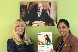 Sarah Wren, Chief Executive of HILs, and Kristy Thakur, deputy Head of Community Wellbeing
