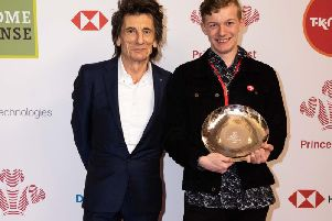 Ronnie Wood and Alan