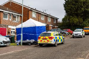 A murder investigation has been launched