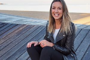 Louise launched Moody leggings after being inspired by her mum to create the line which donates 100 per cent of the profits to help women affected by mental illness