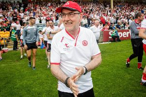 Tyrone's Mickey Harte. Pic by INPHO.