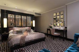 Local luxury - Inside the Fitzwilliam Hotel, Belfast's stunning Executive Pink room