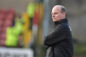 Cliftonville manager Barry Gray. Photo Charles McQuillan/Pacemaker Press
