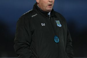 Ballymena United David Jeffrey wants his players to bounce back.