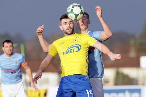 Coleraine have completed the signing of Cormac Burke from Dungannon Swifts