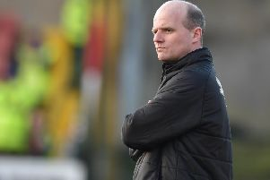 Cliftonville boss Barry Gray. Pic by Pacemaker.