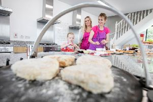 Wee Buns cooker school near the village of Moy in Tyrone has just been named as one of Discover NI's Top Ten Things to Do.