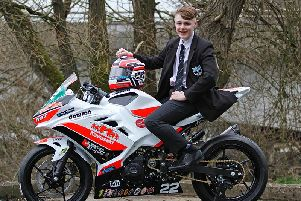 Cameron Dawson from Killyman in County Tyrone will compete in the British Junior Supersport Championship this year for Ryan Farquhar's KMR Kawasaki team.
