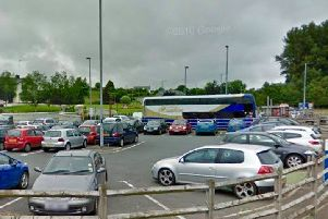 Castledawson park and ride where the attack happened