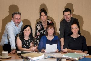 The local 'dragons' who will be judging the final of the �10k Business Start-Up Challenge.