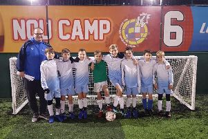 Dunchurch Junior School Under 11s football team have reached the last 24 in a national competition