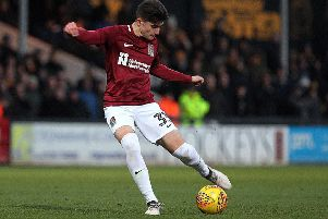 Scott Pollock has been offered a professional contract at the Cobblers