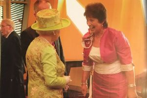 One of the highlights of Ruth's career was meeting the Her Majesty The Queen