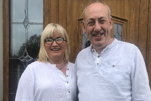 Faye and Stephen Neville from Moy say being foster carers has brought much joy and happiness to their family.