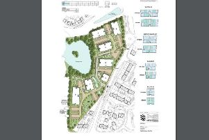 How the housing could be accommodated on the site