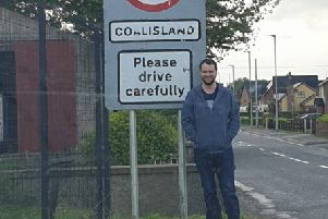SDLP Councillor Malachy Quinn has welcomed the extension of the 30mph speed limit on the Gortgonis Road