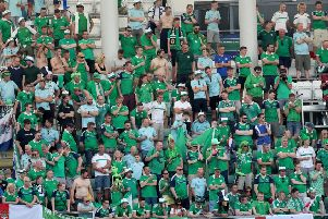 Trevor Ringland said Northern Ireland football fans had been involved in the campaign to create a more inclusive environment at games