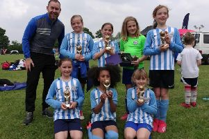 Worthing United's girls section have enjoyed tournament success this summer