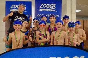 Each child taking part will receive a swimming hat and medal