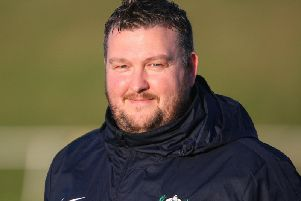Worthing United's manager Danny Wood. Picture by Derek Martin