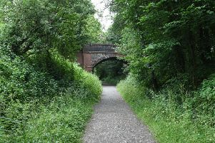 Hidden Gems of Horsham.''Scenes of the South Downs Link at Rudgwick by double bridge and Milk Churn Cafe, showing connecting footpath and cycle route. ''Horsham, West Sussex.''Picture: Liz Pearce 19/06/2018''LP180196 SUS-180619-162942008