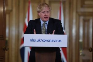 Boris Johnson gives a press conference about the ongoing situation with the coronavirus (Photo: Eddie Mulholland - WPA Pool/Getty Images)