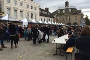 Photo from a previous chocolate festival in Warwick.