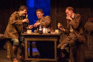 Strong cast and excellent direction: Journey's End. Picture: Peter Weston