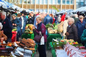 Warwick Market. Photo submitted.