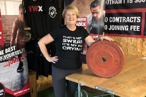 Kim Cockerill, 57, was named 'Member of the Year' at Fitness Worx in Kenilworth after turning her life around