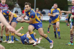 Gareth Renowden looks to spread play for Kenilworth. Picture submitted