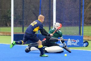Tim Williams-Ellis goes close for Warwick Men's 1sts at home to Worcester. Picture: Morris Troughton