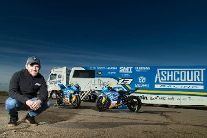 Fermanagh man Lee Johnston is running his own machinery under the Aschourt Racing banner in 2019.