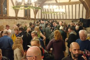 The winter beer festival in Warwick. Photo by Warwick Court Leet.