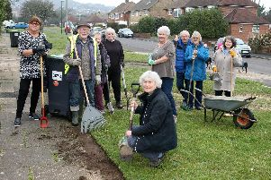 Residents working together to improve Pratton Avenue in Lancing