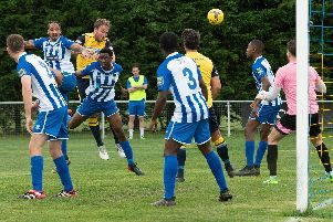 Sam Pearce scored his fourth goal in five games for Moneyfields. Picture: Keith Woodland