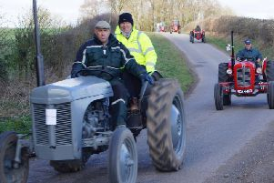Andy's Hospice tractor road run 2019