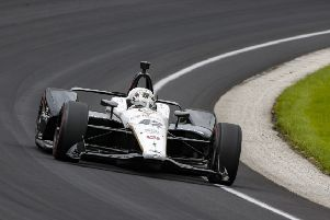 Jordan King suffered a ignominious Indy 500 debut after injuring one of his pit crew.