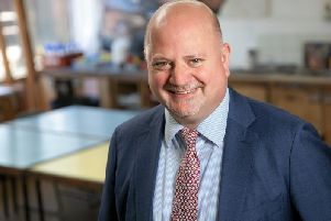 Steyning Grammar School head teacher Nick Wergan