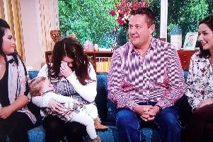 Lea, Shannon, Akeelah, Gareth and Kirsty met for the first time on the This Morning sofa