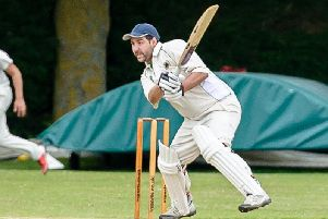James Goodwin starred with bat and ball for Willoughby's seconds on Saturday