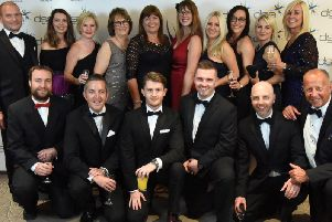 Staff from Forever Living at the awards ceremony. Photo supplied.
