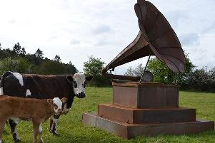 Special gramophone to make visit to Kenilworth for the Kenilworth Arts Festival