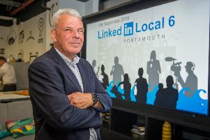 19/9/19''Story: Linkedin Local 6 at the Village Hotel, Portsmouth.''Pictured: Ian Gribble, document solutions consultant.''Picture: Habibur Rahman