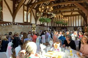 The ladies luncheon event at the Lord Leycester Hospital. Photo supplied.