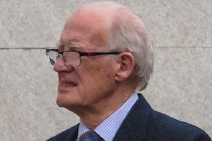 Richard Nealon outside Warwick Crown Court