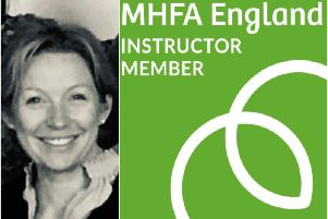 Louise Jones is looking to spread the word about her Mental Health First Aid courses. Photos submitted.